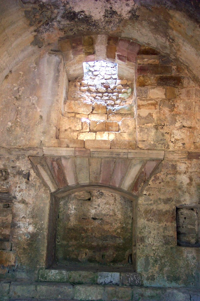 Interior del Mausoleo