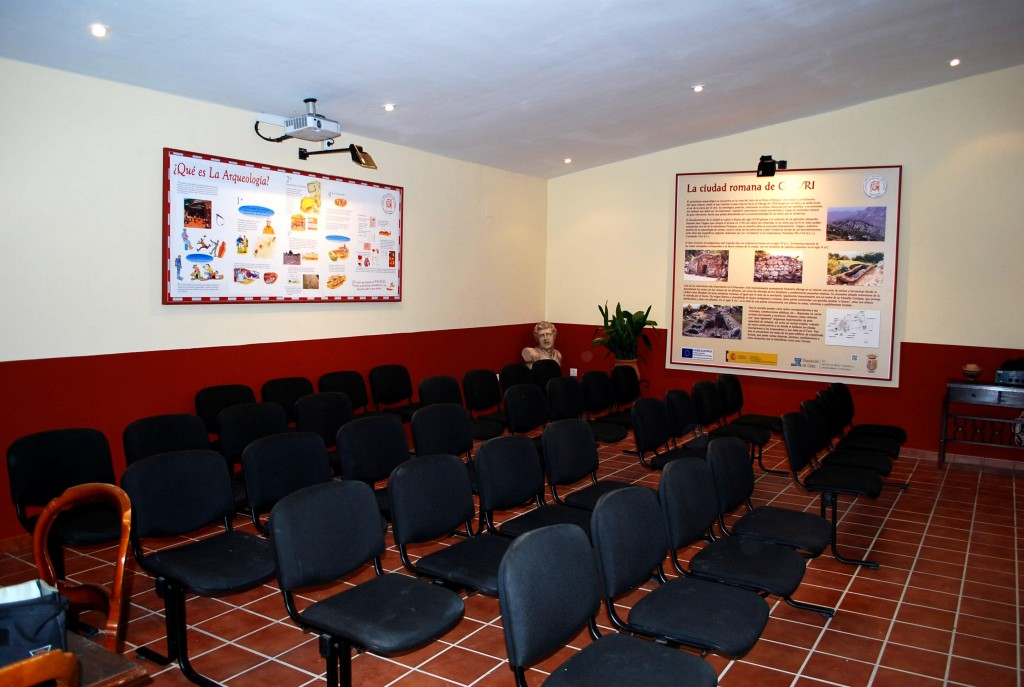 Sala de Audiovisuales interior